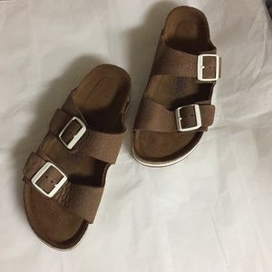 Birkenstock Arizona  soft footbed sandals (39)